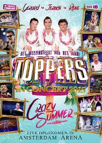 Cover Gerard - Jeroen - Rene - Toppers In Concert 2015 - Crazy Summer [DVD]